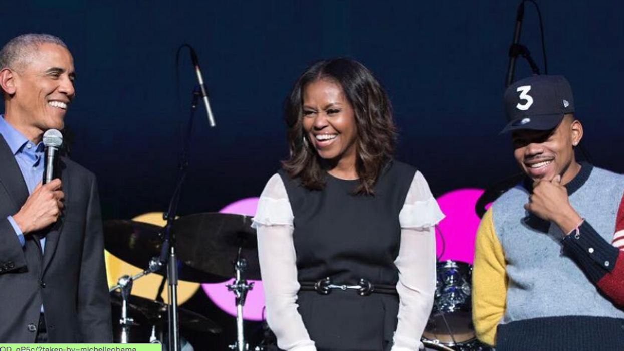 Michelle Obama était à Montréal pour une conférence vraiment inspirante