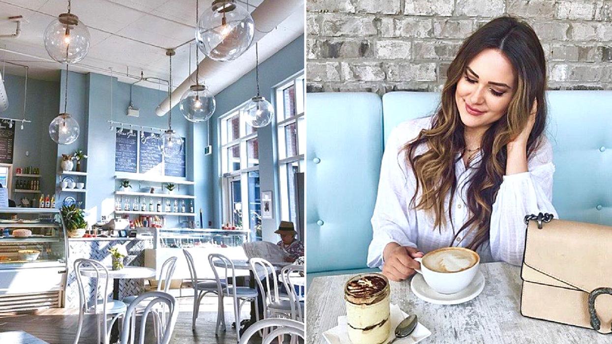This Stunning Ottawa Cafe Has Major Breakfast At Tiffany's Vibes