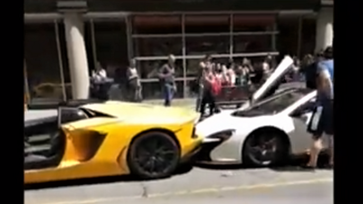 A Lamborghini, McLaren And Porsche Collided In Yorkville Causing More Than $800,000 In Damages (VIDEO)