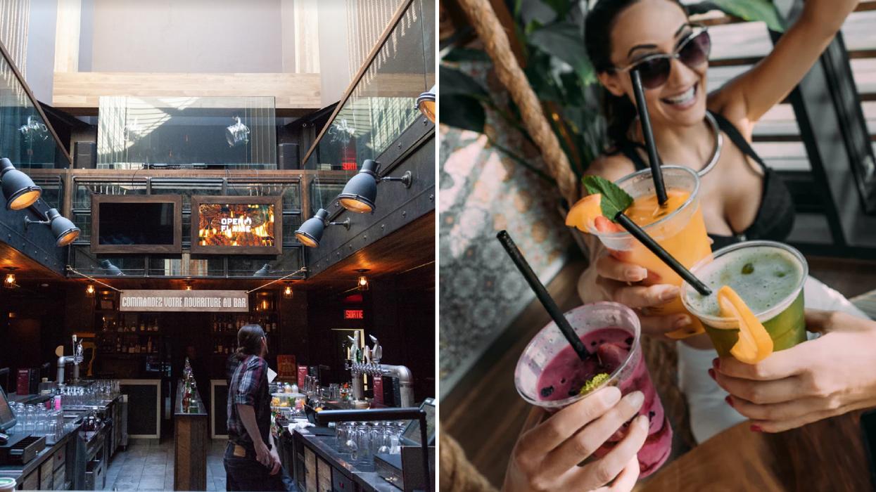Un immense bar « terrain de jeux pour adultes » débarque à Montréal parce qu'il y a vraiment mieux que le beer pong