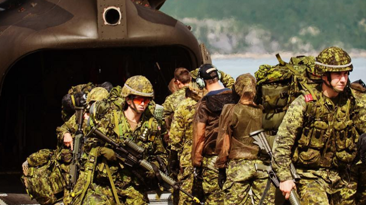 The Canadian Armed Forces' Equipment Shortage Has Lead To Soldiers Having To Return Supplies