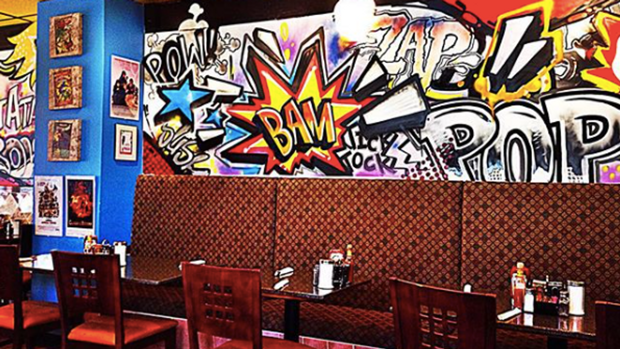Embrace Your Inner Comic Book Geek At This Unreal Brunch Spot In Toronto