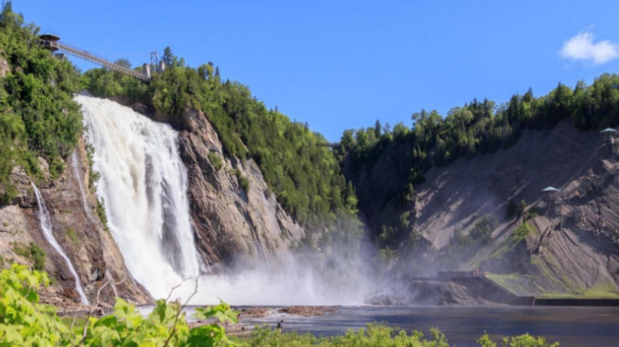 5 folles chutes à visiter au Québec pour faire changement de Niagara Falls