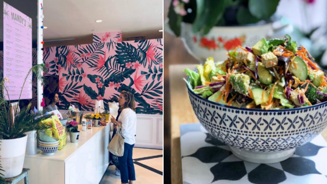 Le restaurant Mandy's débarque au DIX30 et c'est le paradis des salades