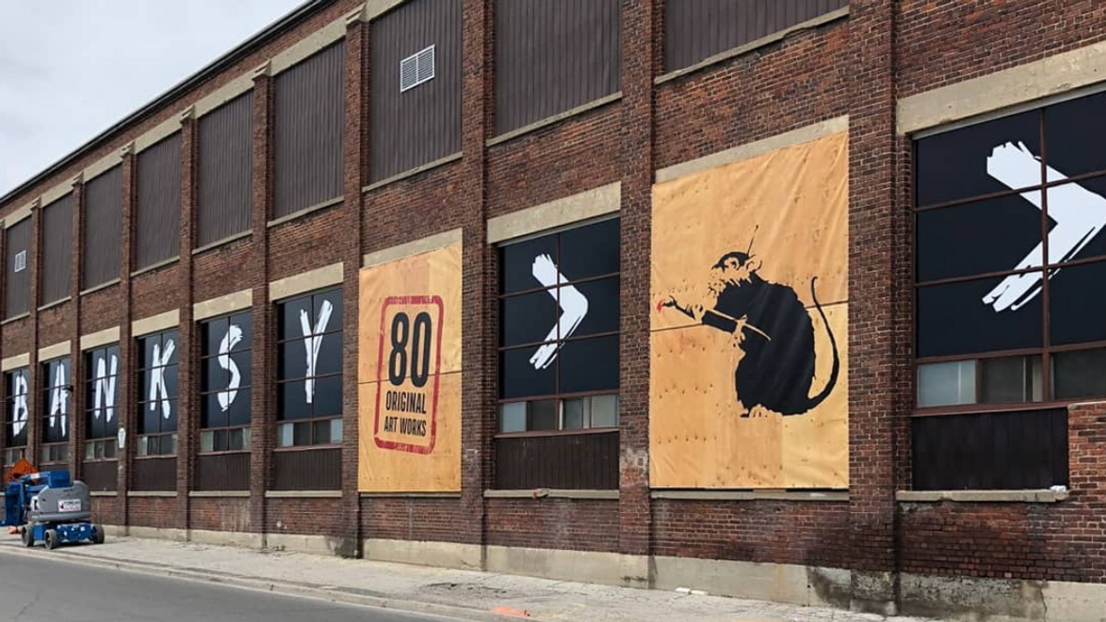 The Banksy Exhibit Just Got Extended Until This Date In Toronto