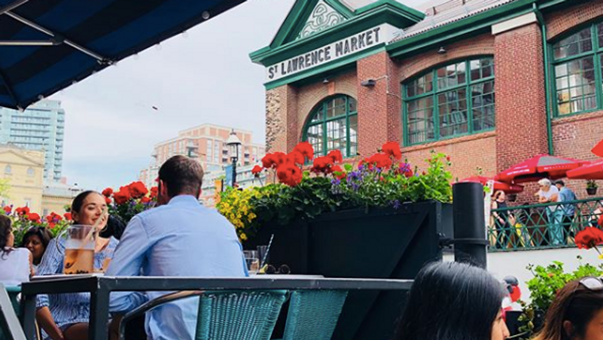 This Canadian Restaurant Has A Stunning Patio That Will Make You Feel Like You're In Barcelona
