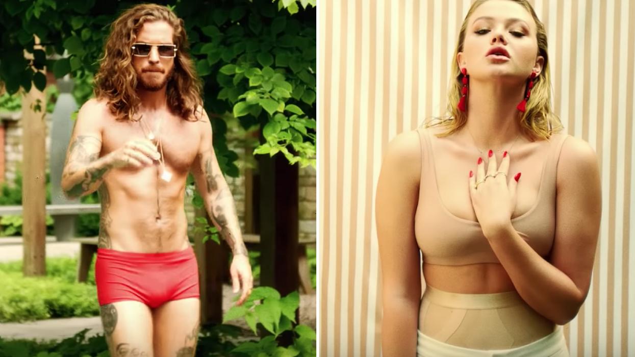 Claude Bégin vient de sortir une vidéo super sexy avec sa fiancée