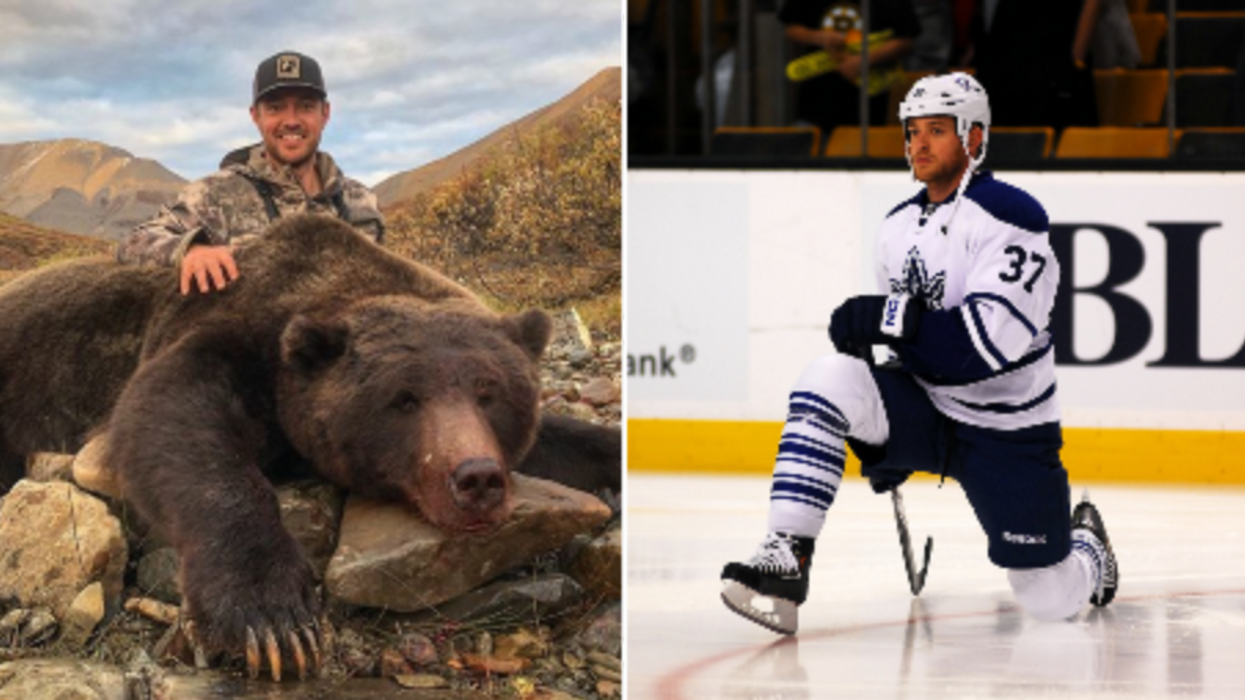 This Ex-Leafs Player Has Been Going On An Animal Killing Spree And Fans Are Completely Shocked