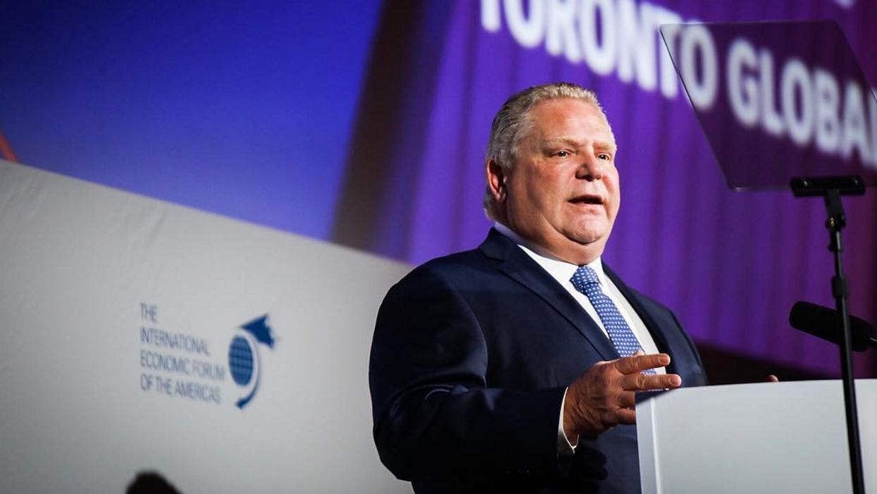This Is How Much Money Doug Ford Is Likely Making In His First Year As Ontario's Premier