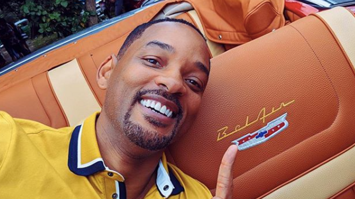 The First Photos Of Will Smith As The Genie In 'Aladdin' Are Out And Twitter Is NOT Having It