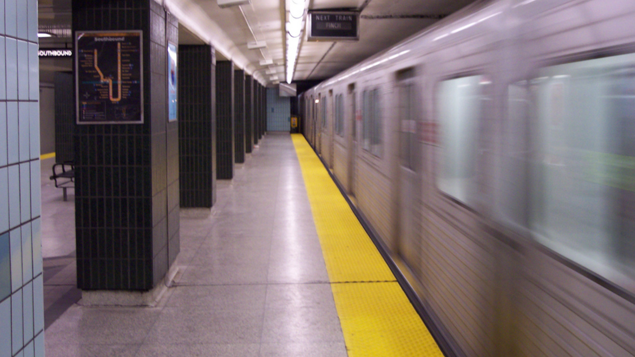 A Man Was Hit By A TTC Train Yesterday And People Are Horrified That There's A Video Of It Floating Around