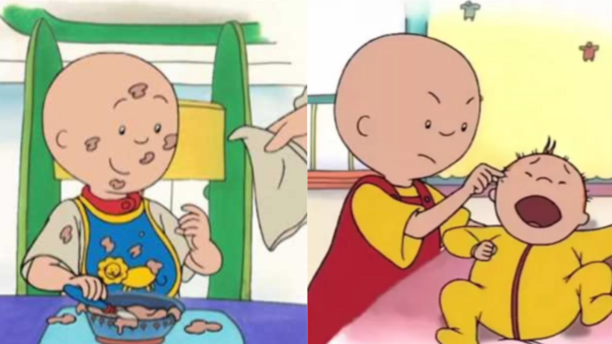 Caillou Is The Worst Thing That Has Ever Happened To Canadian Media And It's Gotten To The Point Where Canadians Are Publicly Apologizing For It