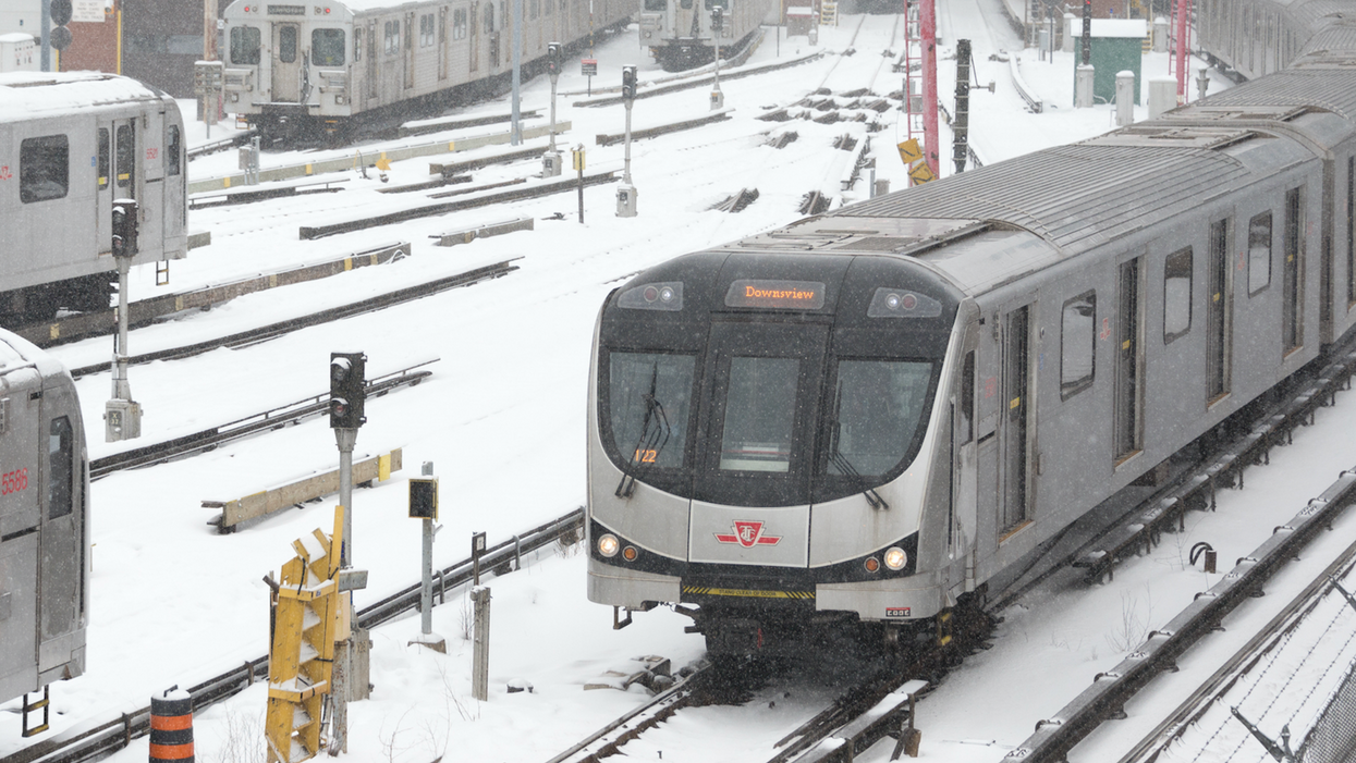 Aftermath Of Yesterday's Storm Makes For A Nightmare Morning Commute On The TTC (PHOTOS)