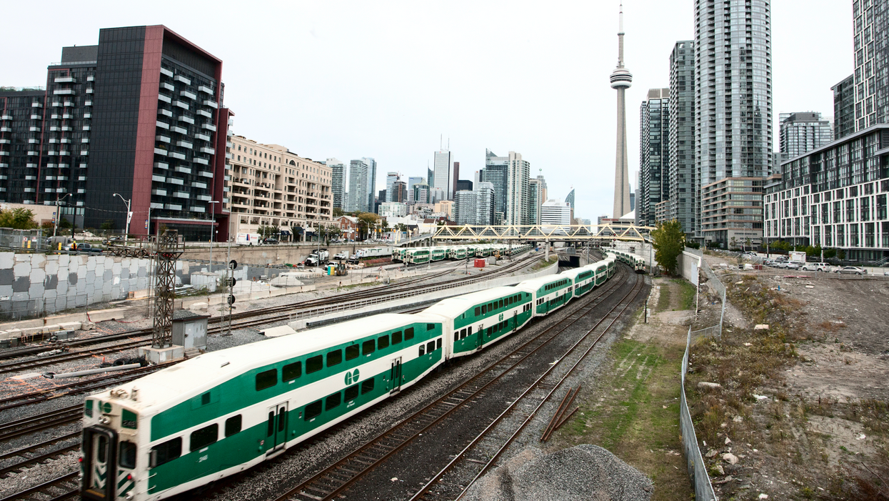 GO Transit Suspends Service After A Person Was Struck And Killed By A Train This Morning