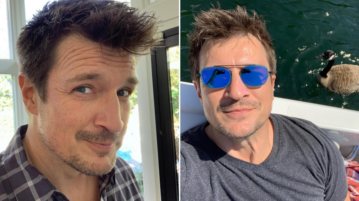 Nathan Fillion Growing Up In Canada
