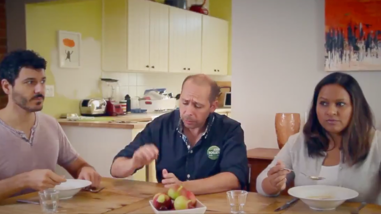 """A Green Party Candidate Made A Hilarious New Video To Combat The """"Humourless Election"""""""