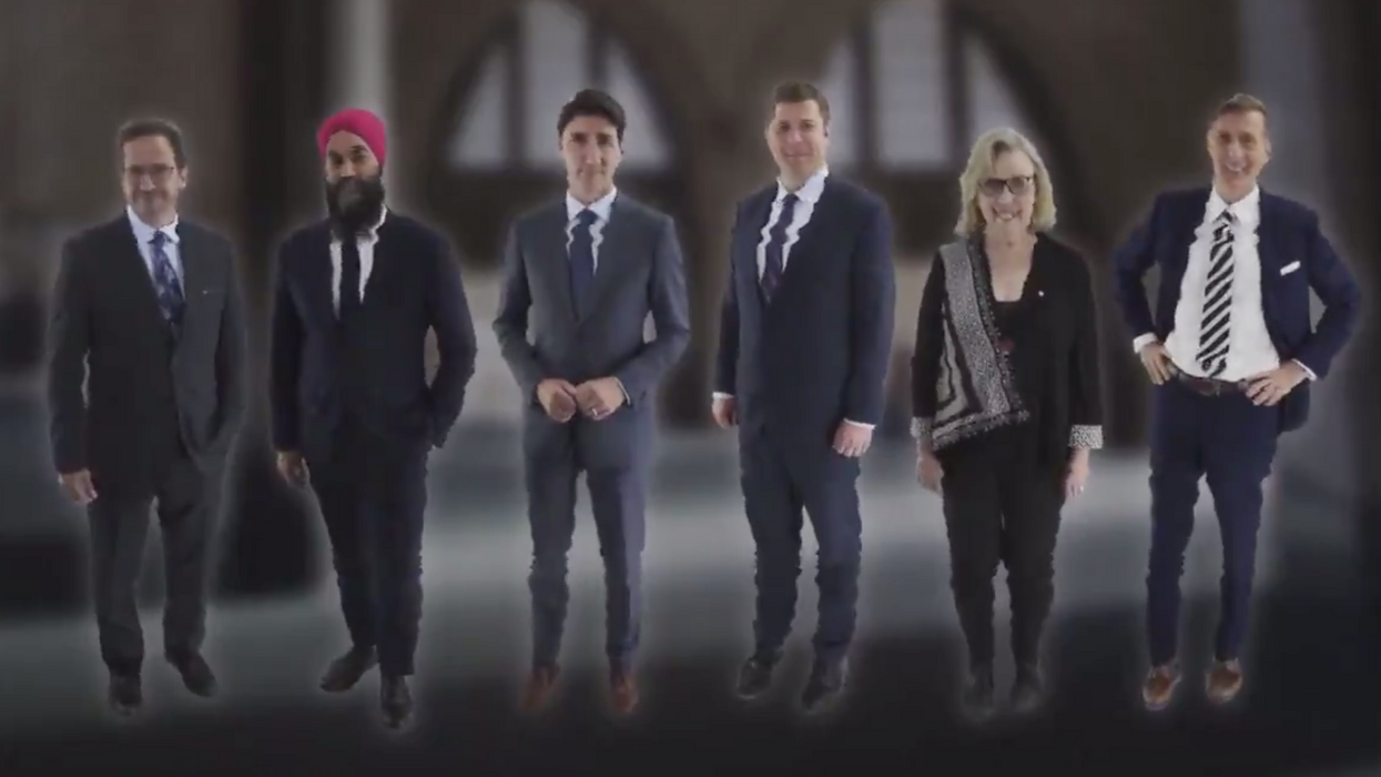 The CBC Just Dropped An Election Rap Out Of Nowhere & We're Obsessed (VIDEO)