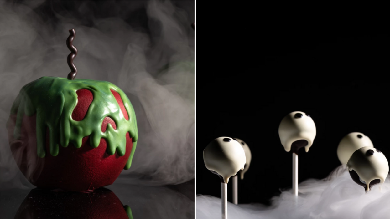 You Can Eat Scream Puffs & Poison Apples At This BC Bakery For Halloween