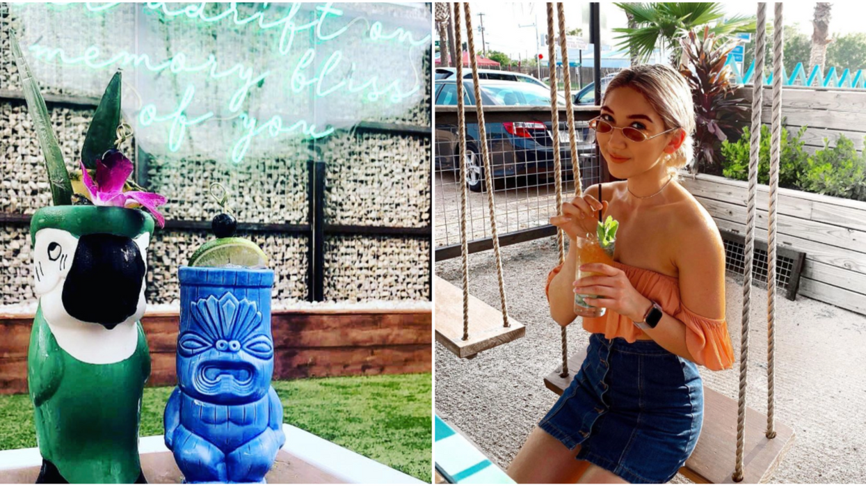 Tikila Houston's Grand Opening Will Include A Tiki Bar And Fire Show