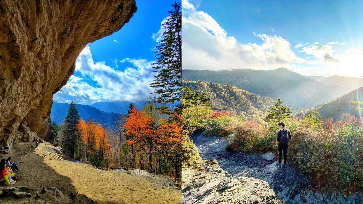 You Can Take A 4-Mile Hike In Tennessee To This Massive 'Cave' For Ultimate Views