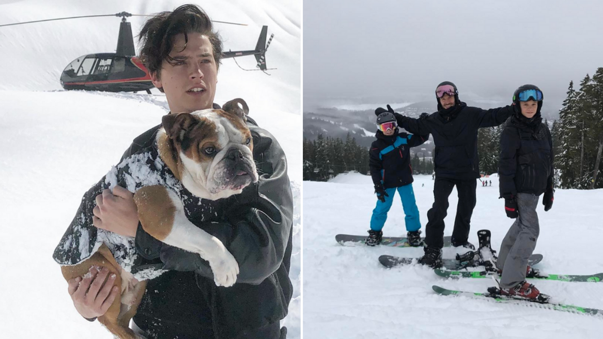 Whistler's Ski Resort Becomes Home To So Many Celebs In The Winter Months