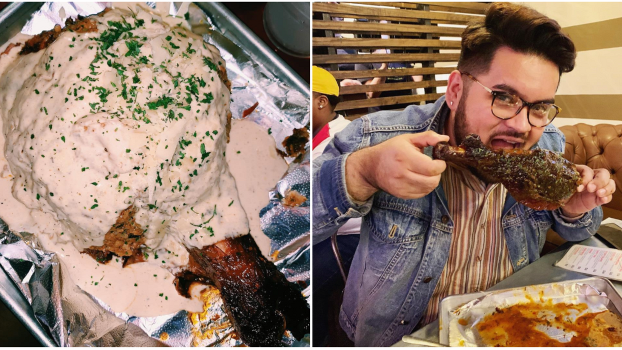 Turkey Leg Hut Just Opened A Food Truck Location In Houston