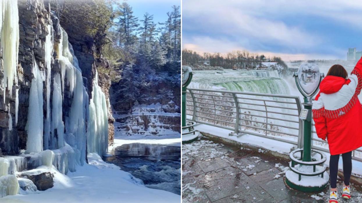 9 roadtrips au Québec et environs pour aller admirer des cascades de glace cet hiver