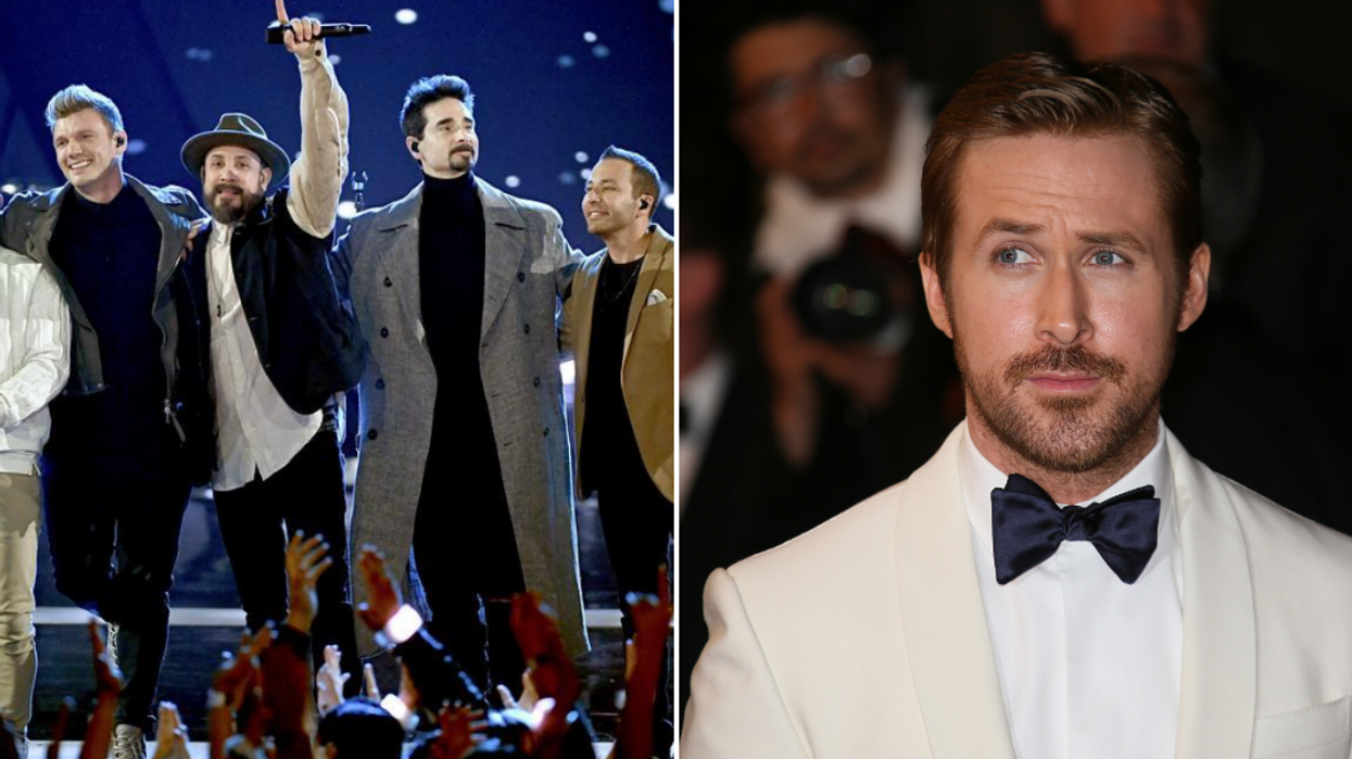 The Backstreet Boys Admitted That Ryan Gosling Didn't Believe They Could Be Famous (VIDEO)