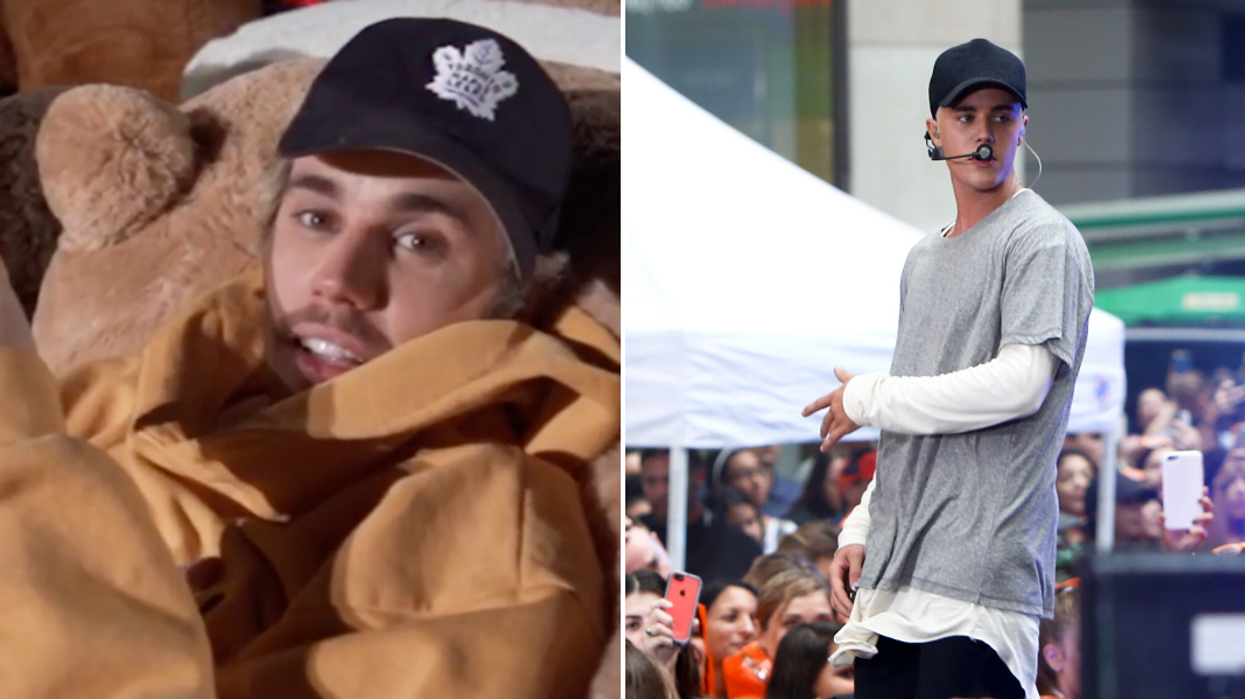 """Justin Bieber Preps For His """"Changes"""" Tour Like A Real Canadian (VIDEO)"""