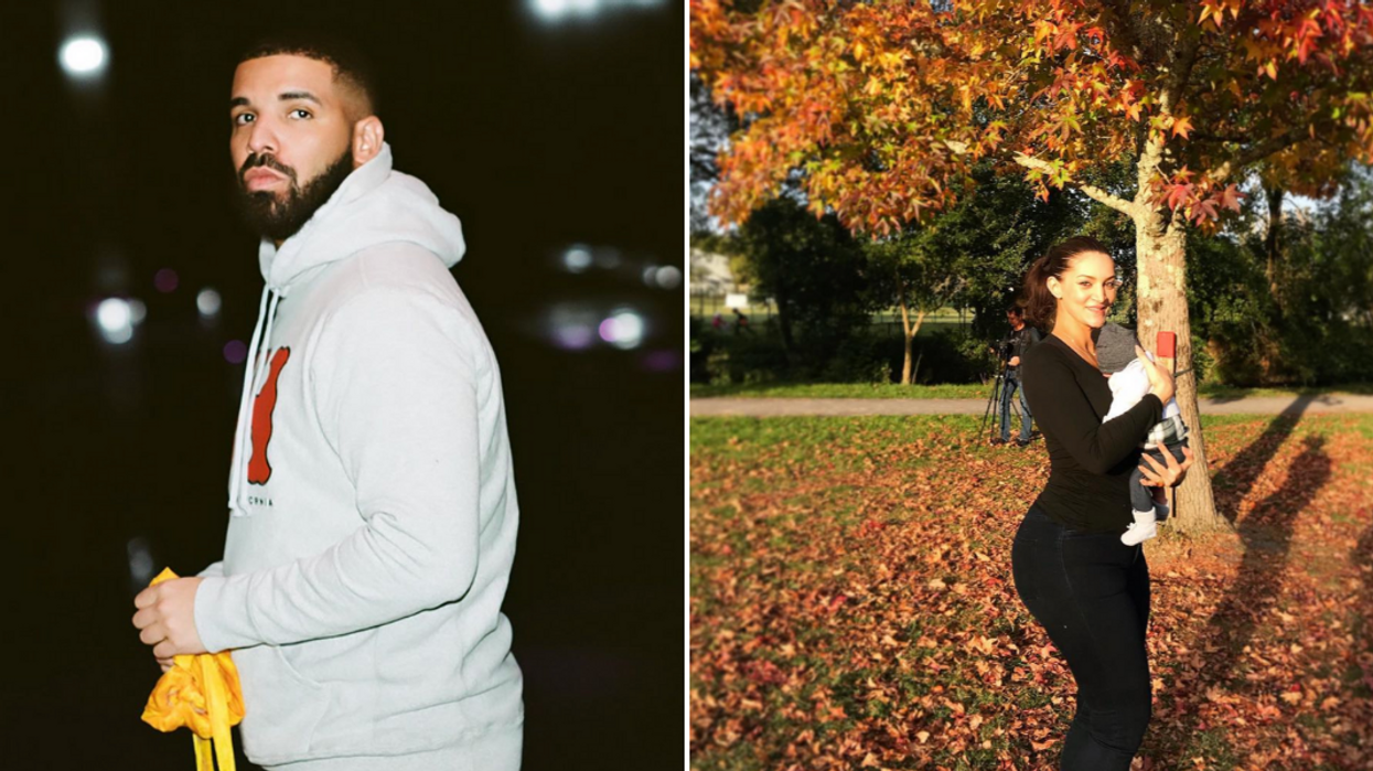 Drake Shares Photos Of His Son For The First Time With A Touching Message (VIDEO)