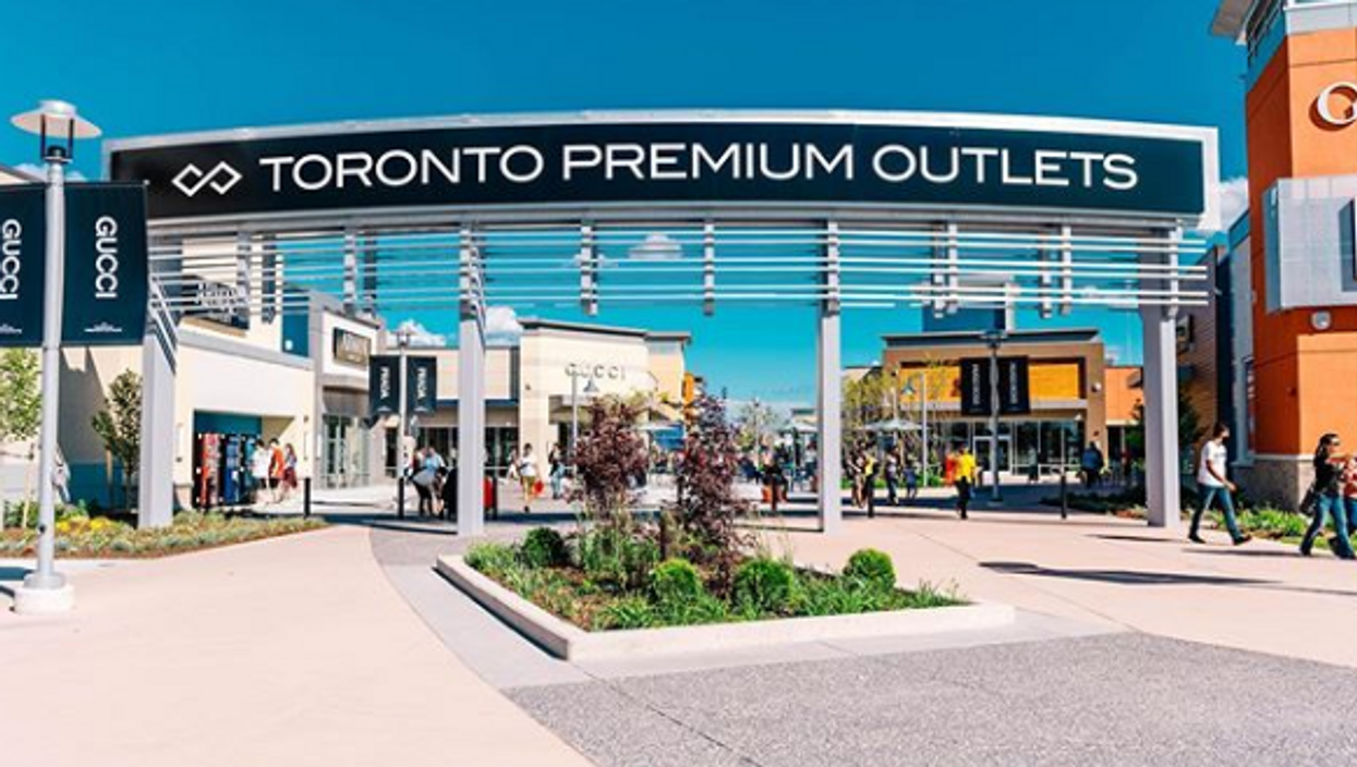 Toronto Premium Outlets Is Officially Opened But Shopping Will Be So Different