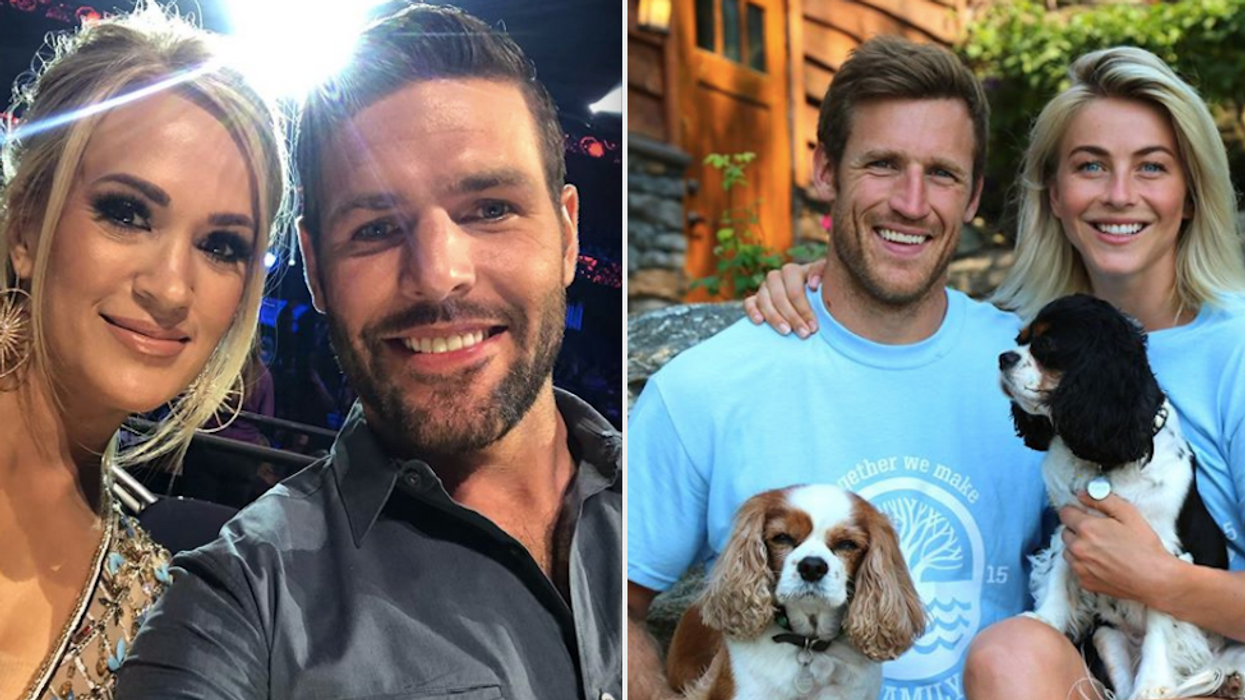 Spreading love and patriotism!These Canadian athletes have dated and married Hollywood celebrities. You may be surprised to learn that some famous faces have fallen in love with superstars from the Great White North.