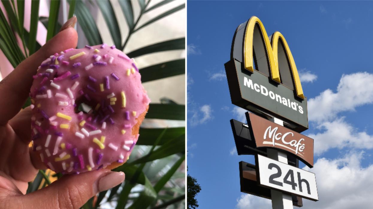 On a goûté aux nouveaux beignes de McDonald's et voici ce qu'on en pense