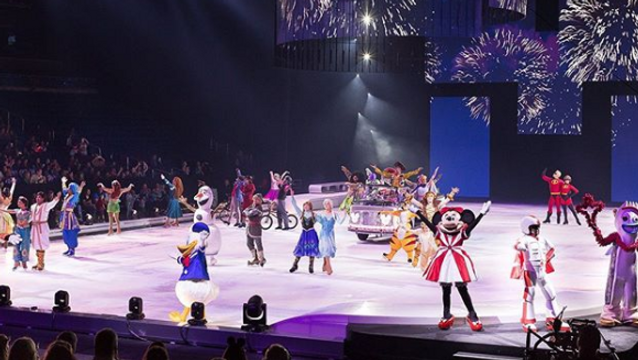 Disney On Ice Is Sliding Into Dallas Next Month & It's Going To Be Magical