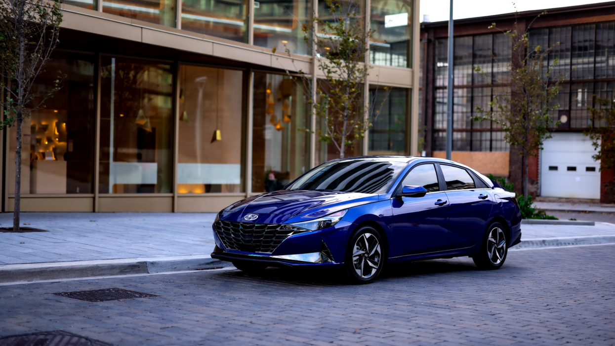 The All-New Hyundai Elantra Is Here & It's Completely Redesigned