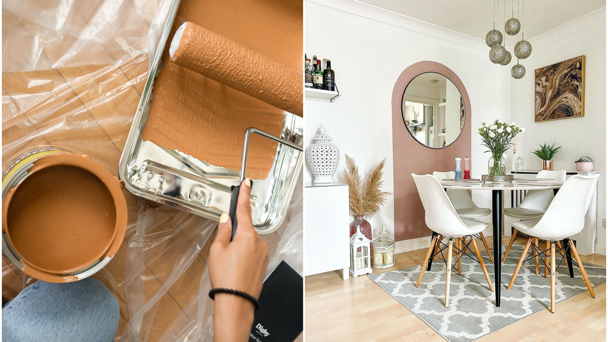 8 Of 2021's Trendiest DIY Wall Paint Hacks That'll Transform Your Space