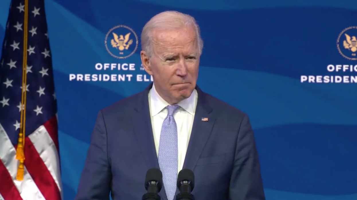 Joe Biden Says Today's Capitol Violence 'Does Not Reflect A True American' (VIDEO)