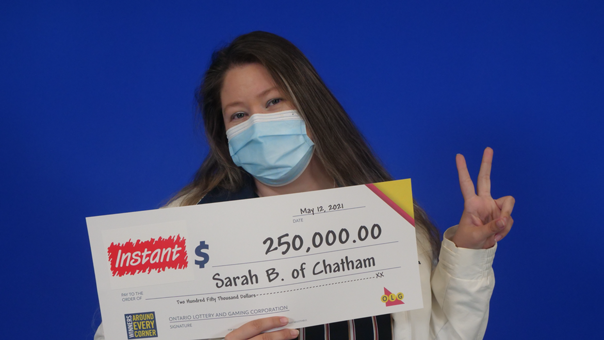 Ontario Mom Won The Lottery On Mother's Day & Wants To Use It To Help Her Kids