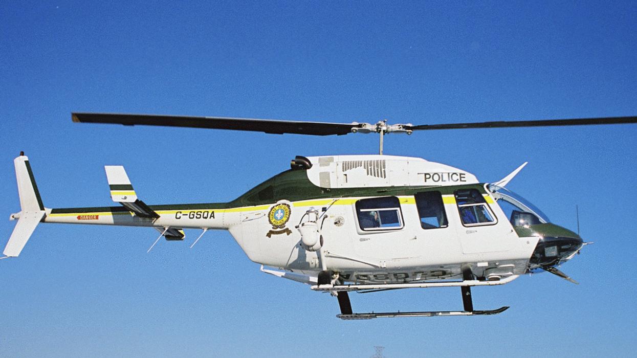 Le SPVM emprunte un hélicoptère à la Sûreté du Québec pour surveiller Montréal ce week-end