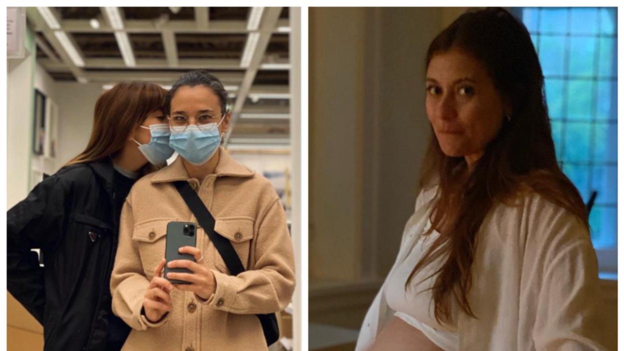 Katherine Levac annonce qu'elle est enceinte de jumeaux