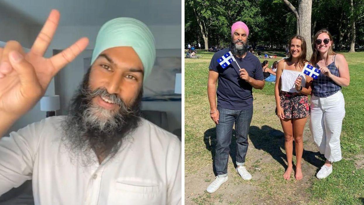 Jagmeet Singh du NPD parle de son amour du Québec