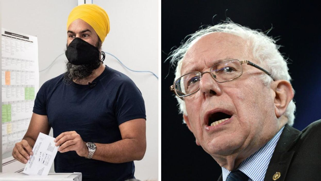 Jagmeet Singh Just Got Endorsed By Bernie Sanders With Days Left Until The Election