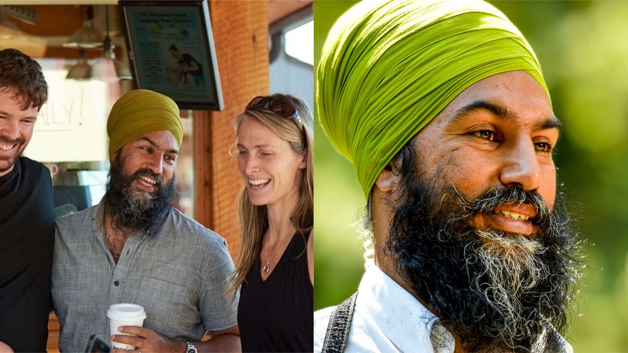 Jagmeet Singh's Turban Is Green For St. Patrick's Day