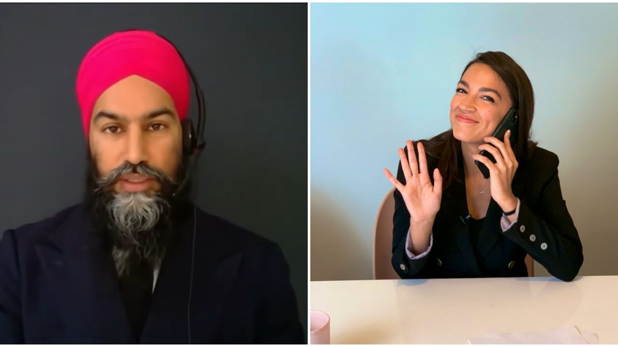 Jagmeet Singh's Twitch Stream To Play Among Us Could Include Alexandria Ocasio-Cortez