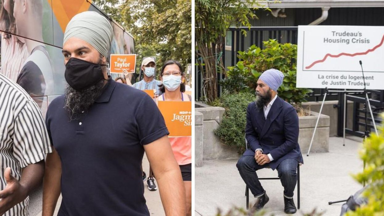 Jagmeet Singh Says NDP Will Give Canadians $5K To Pay Their Rent