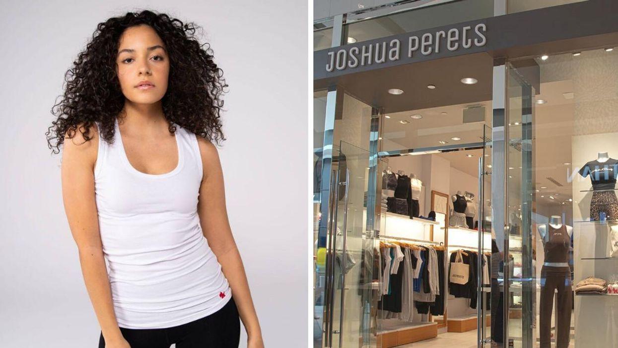 Joshua Perets rouvre une boutique à Laval avec ses fameuses camisoles des années 2000