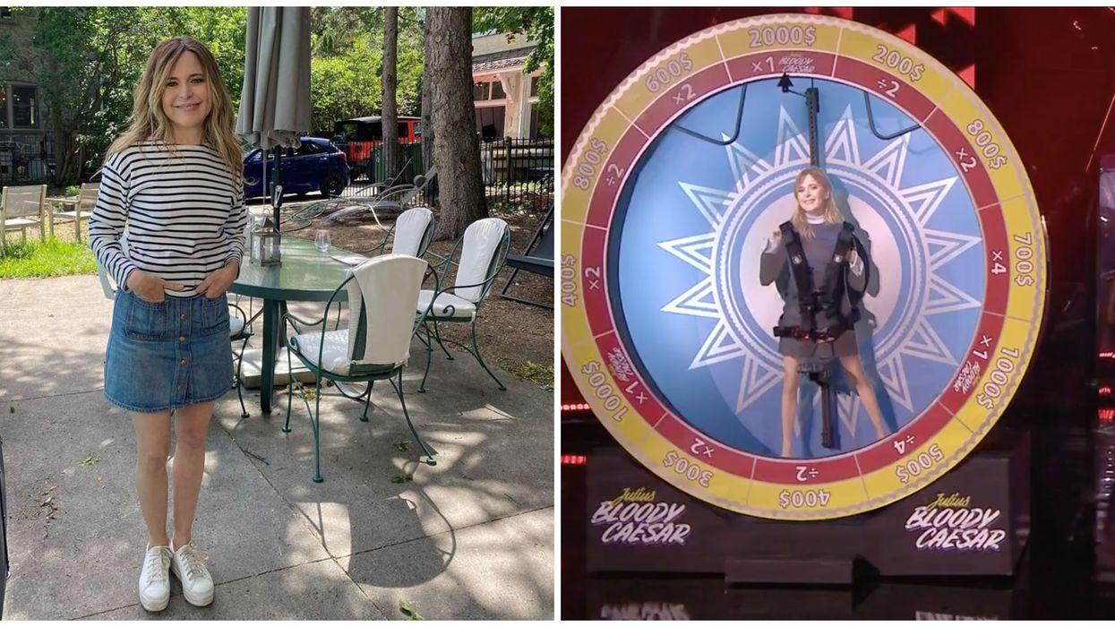 Julie Snyder cherche des participants pour la roue humaine et tu peux gagner de l'argent