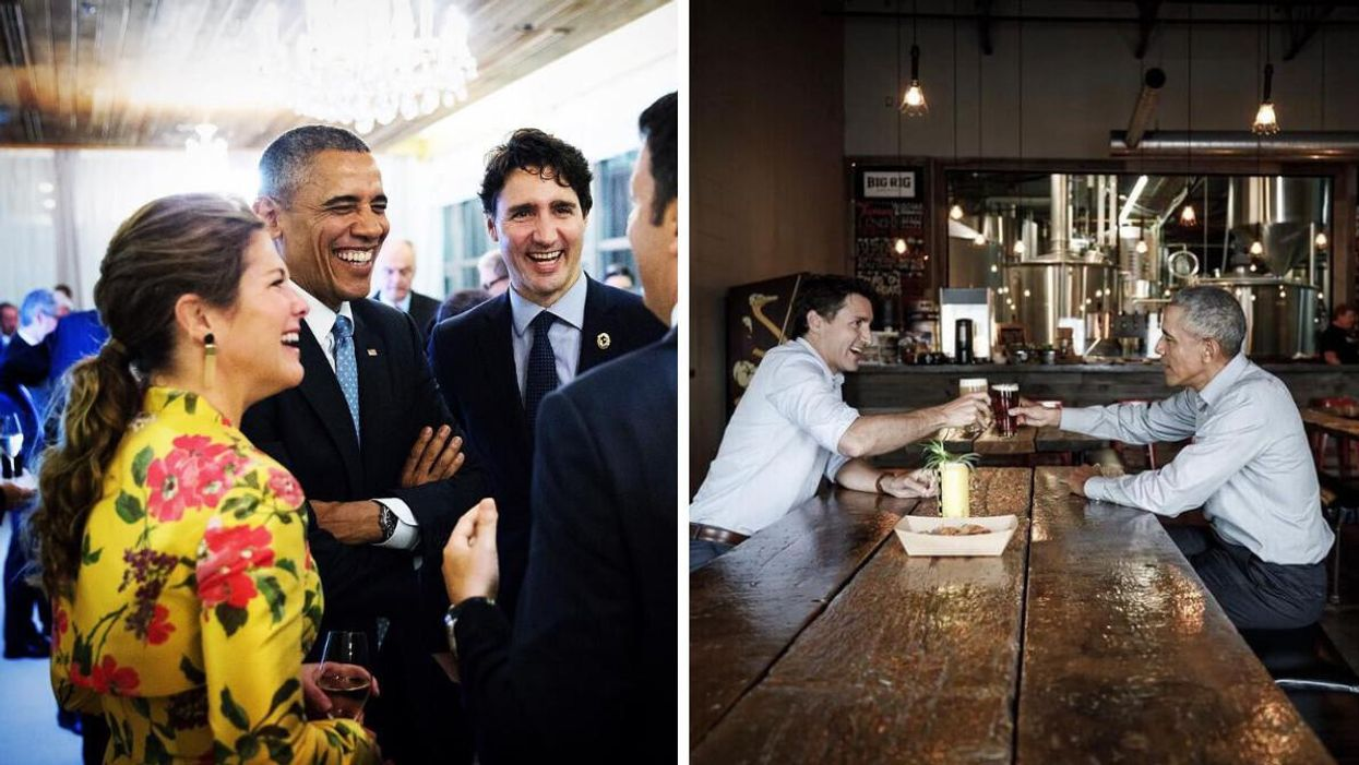 Justin Trudeau Got A Shoutout From Barack Obama Ahead Of Canada's Federal Election