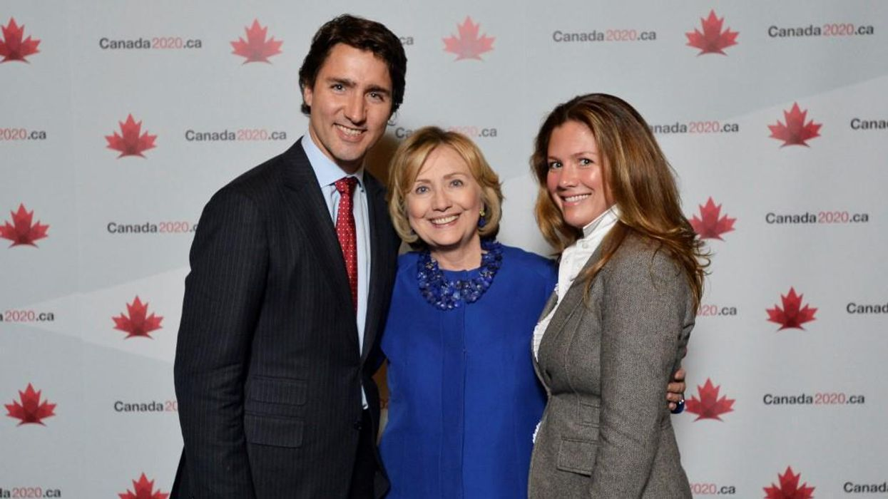 Justin Trudeau Got An Endorsement From Hillary Clinton Just Days Before The Election
