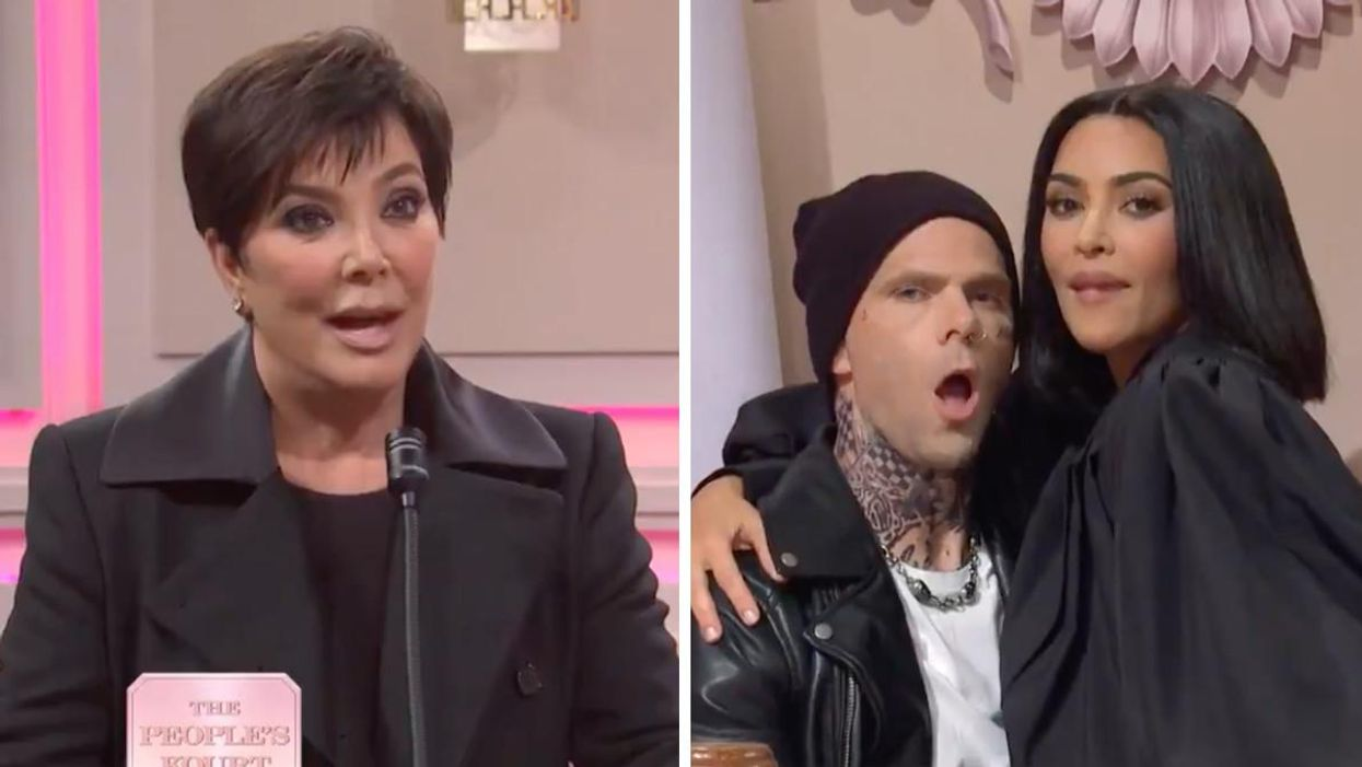 Kim Kardashian Played Her Sister In A Brutal 'SNL' Skit & Their Mom Even Got Involved (VIDEO)